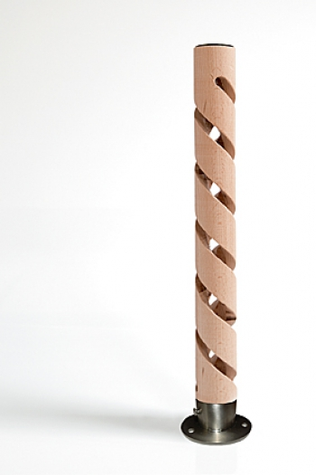 DOG Pee wood – wood, a through helix + stainless steel foot